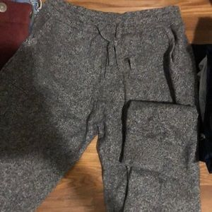 Very thick sweatpants joggers from gap!